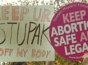 Feminists Rally on Capitol Hill Against Stupak/Pitts