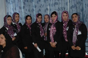 Group of Afghani midwives