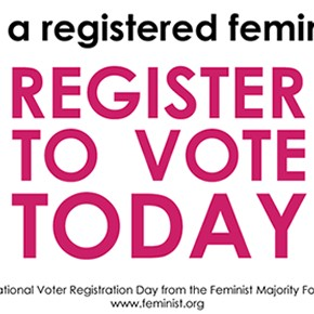 REGISTER TO VOTE! It's not too late…YET!