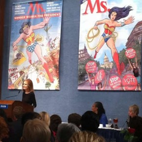 Excerpts from Gloria Steinem's Speech as Ms. Turns 40