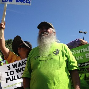 Walmart Tries to Block Worker's Rights Protesters