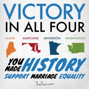 Sweeping Victory for Marriage Equality
