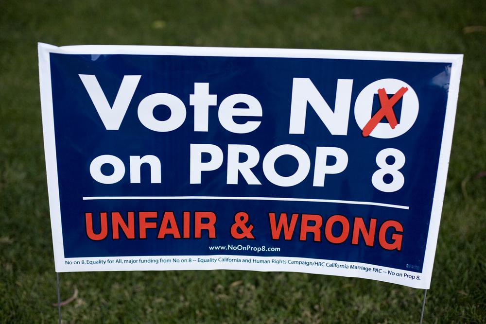 Proposition 8 oral argument