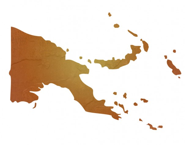 """Papa New Guinea Map"" via Shutterstock"