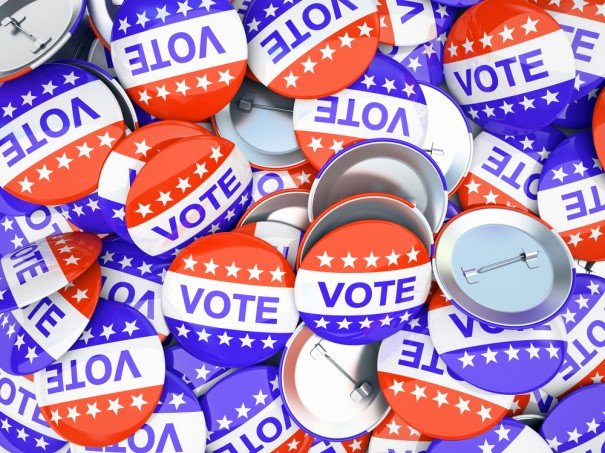 vote buttons via Shutterstock