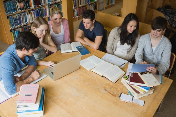 Group of Students via Shutterstock