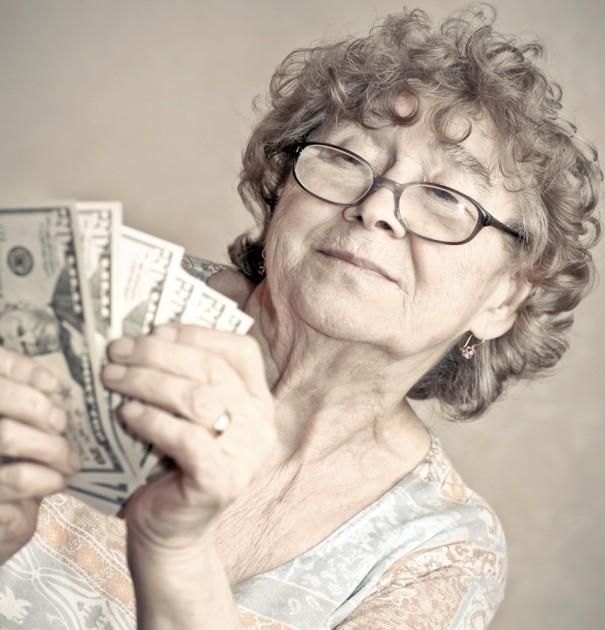 Portrait of happy woman via Shutterstock