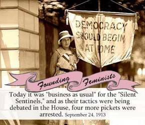 Founding Feminists: September 24, 1917
