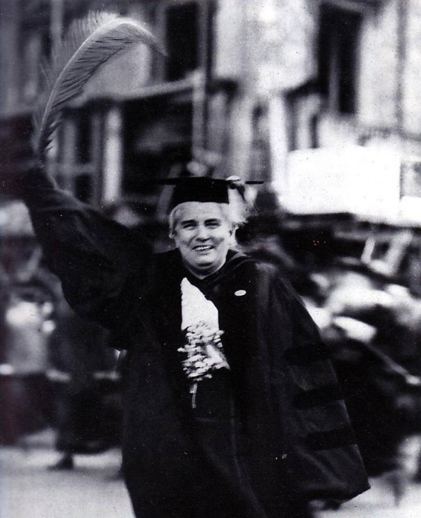 Rev. Anna Howard Shaw, President of the National American Woman Suffrage Association from 1904-1915, and an untiring worker in the New York State suffrage campaign this year.