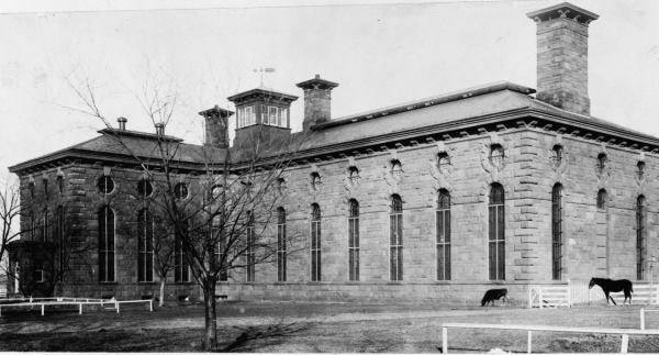 "The Washington Asylum And Jail, usually called the ""District Jail"""
