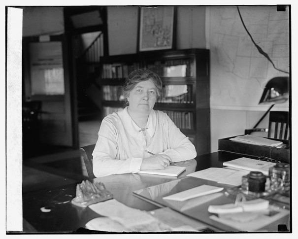 Mary Anderson, the first - and so far only - head of the Women's Bureau, appointed 12 years ago.