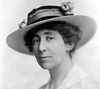 N.A.W.S.A. Field Secretary Jeannette Rankin, who will represent Montana suffragists at the meeting with President Wilson day after tomorrow.