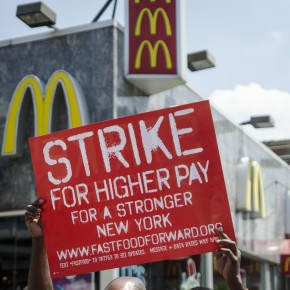 Fast Food Workers Continue Strikes In Largest Action Yet