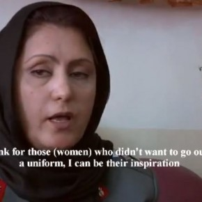 First Afghan Women Police Chief Appointed in Kabul