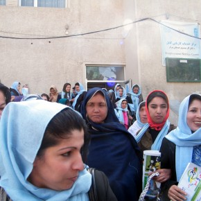 Afghan Women Rise for Justice at Kabul Protest