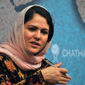 Female Afghan Parliamentarian Speaks Out About Women's Progress in Afghanistan