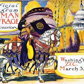 Founding Feminists: March 6, 1913