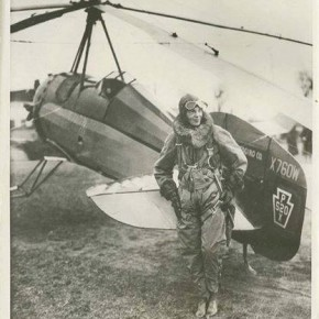 April 8, 1931: Amelia Earhart Sets New Records - And Breaks Her Own