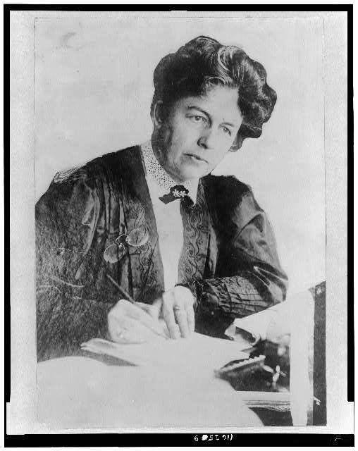 Harriot Stanton Blatch, daughter of Elizabeth Cady Stanton.
