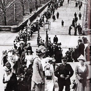 April 7, 1913: 531 Suffragists Attend a Parade and Pageant in DC