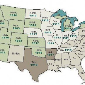 April 22, 1919: Suffrage Victories Won Across the Nation