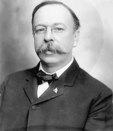 George Chamberlain, Governor of Oregon from 1903 to 1909, and a Democratic Senator from that State since 1909