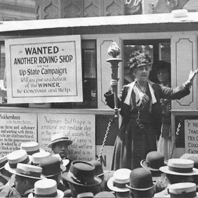 "April 11, 1915: New York Suffragists Open ""Suffrage Shop"" On Fifth Avenue"