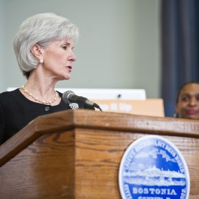 Kathleen Sebelius Resigns as Secretary of Health & Human Services