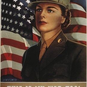 May 30, 1943: Eleanor Roosevelt Praises the Women's Army Auxiliary Corps