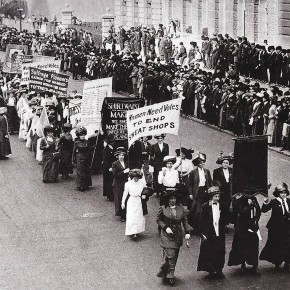 May 6, 1911: NYC Suffrage Parade Largely Exceeds Expectations