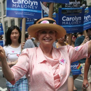Carolyn Maloney Leads Charge for National Women's History Museum