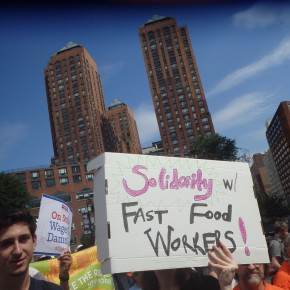 Fast Food Workers Will Hold The Largest-Ever Worldwide Day of Action Next Week