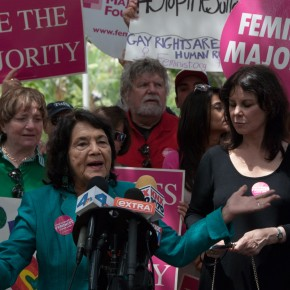 Feminist Majority Rally Brings Together Women's and LGBTQ Groups to Protest Brunei Penal Code