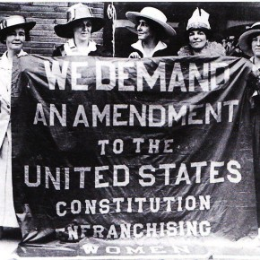 June 5, 1916: Rival Suffrage Groups Take Different Paths to Achieve Bipartisan Support for Women's Vote