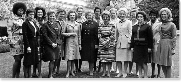 The President's Task Force on Women's Rights and Responsibilities. The Task Force was chaired by Virginia R. Allan, and the report was signed by Elizabeth Athanasakos, Ann R. Blackham, P. Dee Boersma, Evelyn Cunningham, Ann Ida Gannon, Vera Glaser, Dorothy Haener, Patricia Hutar, Katherine B. Massenburg, William C. Mercer, Alan Simpson and Evelyn E. Whitlow.