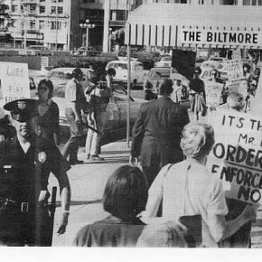 July 30, 1970: Feminist Activists Protest Exclusion of Sex Discrimination from Efforts to Improve Workplace Diversity