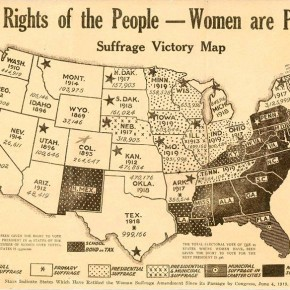 July 28, 1920: Suffrage Factions Both Confident About Passing Susan B. Anthony Amendment