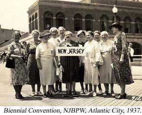 July 23, 1937: National Federation of Business and Professional Women's Clubs Endorses Equal Rights Amendment