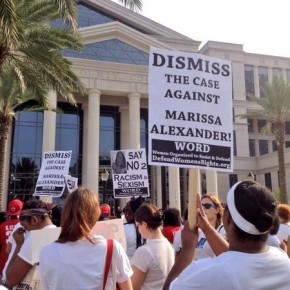 Hundreds March for Marissa Alexander in Jacksonville