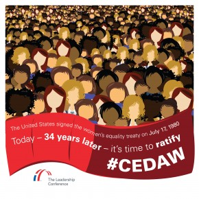 34 Years Ago, The US Signed CEDAW. Now, Let's Ratify It!