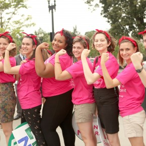Feminist Leaders and Activists Rally for the Equal Rights Amendment