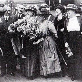 August 27, 1920: Carrie Chapman Catt Returns to New York City for Massive Suffrage Celebration
