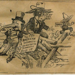 August 21, 1920: Anti-Suffrage Forces Go on Offensive in Tennessee