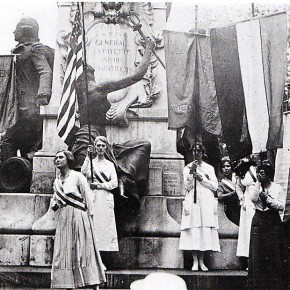 August 6, 1918: National Women's Party Members Arrested in Washington, DC