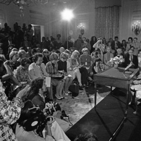 September 4, 1974: Betty Ford Speaks Up for the ERA at Her First Press Conference