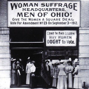 September 3, 1912: Suffragists Lose in Ohio