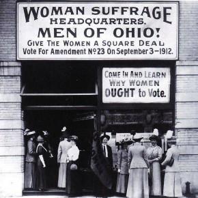 September 3, 1912: Suffragists Lose in Ohio