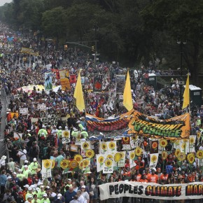 Climate Change Activists Take Over Manhattan to Demand Action