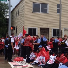 Activists Arrested During Nationwide Protests for Higher Wages