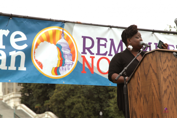 Monica Raye Simpson, Executive Director of SisterSong Women of Color Reproductive Justice Collective.